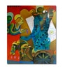 Artflute Canvas Partha Sarathi Framed Art Print