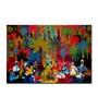 Canvas Sabha Framed Art Print by Artflute