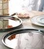 Arttdinox Stainless Steel Quarter Plate - Set of 6