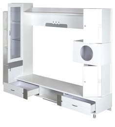 Aster Wall-Unit In White Finish By Royal Oak