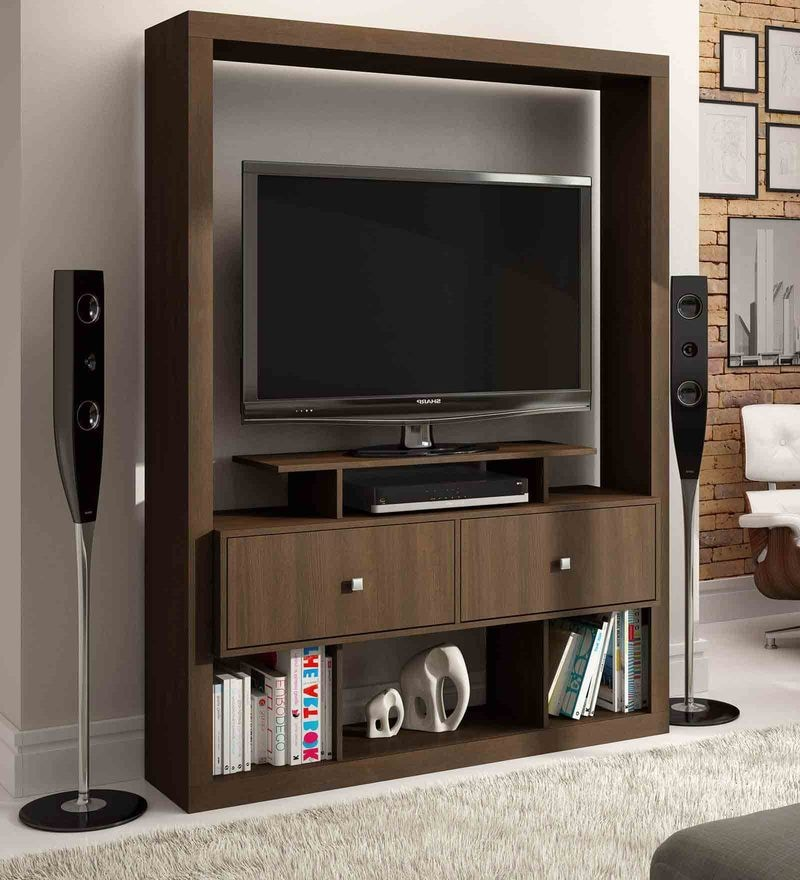 Asa Entertainment Unit in Tobacco Finish by Mintwud