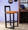 Asilo Bar Chair in Espresso Walnut Finish by Woodsworth