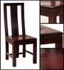Duvall Dining Chair in Passion Mahogany Finish by Woodsworth