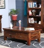 Volga Coffee Table in Provincial Teak Finish by Woodsworth.