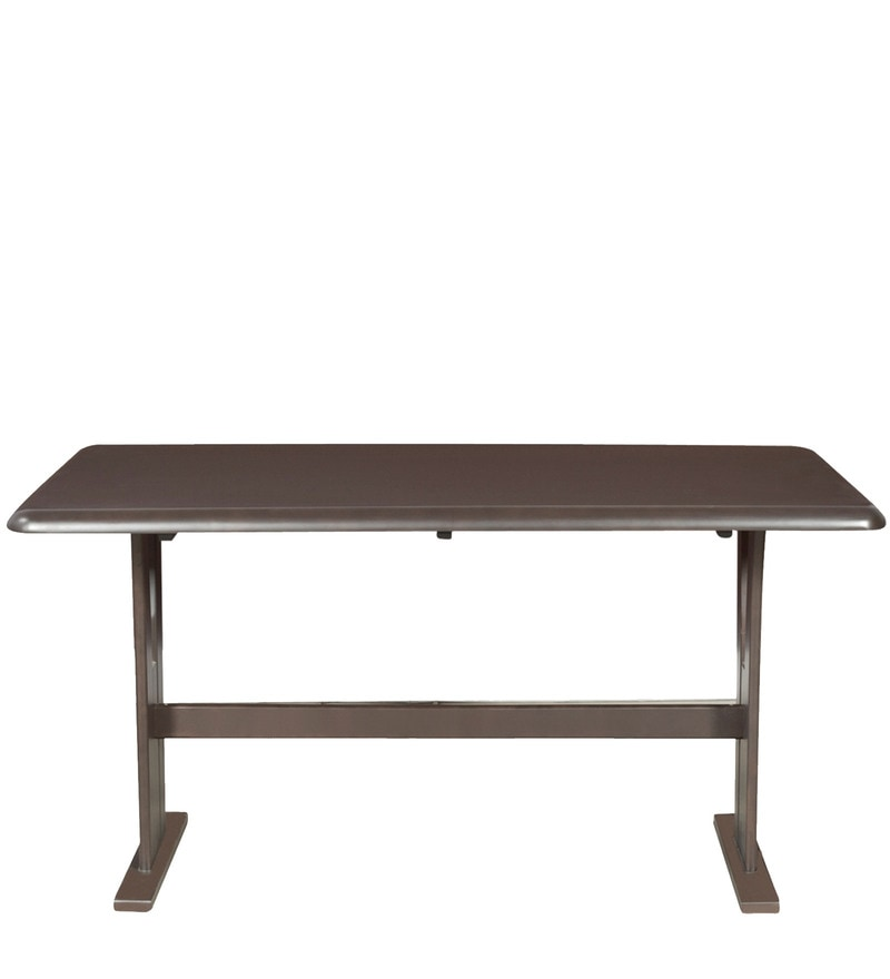 Buy Atlanta Six Seater Dining Table in Dark Brown Colour  : atlanta six seater dining table in dark brown colour by godrej interio atlanta six seater dining tab p1gypn from www.pepperfry.com size 800 x 880 jpeg 14kB