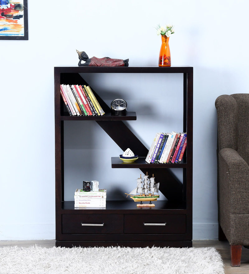 Auburn Display Unit in Warm Chestnut Finish by Woodsworth