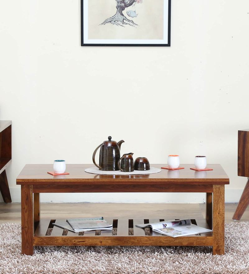 Buy Coffee Table In Brown Colour By Arancia Mobel Online Rectangle Coffee Tables Coffee