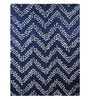 Augusta Carpet 63 x 91 Inch in Blue by Casacraft