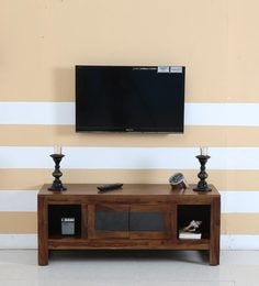 Avian Entertainment Unit In Provincial Teak Finish