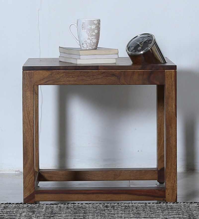 Avian End Table in Provincial Teak Finish by Woodsworth