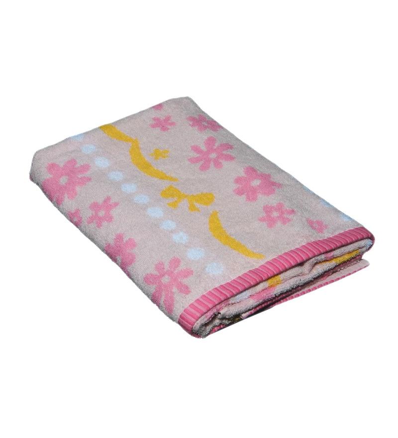 Avira Home Pink Cotton Bath Towel