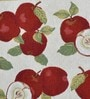Avira Home Apple Multicolour Cotton And Polyester Table Mat - Set Of 2