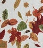 Avira Home Autumn Leaves Multicolour Cotton & Polyester Placemats - Set of 6