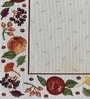 Avira Home Celebration Multicolour Cotton And Polyester Table Mat - Set Of 2