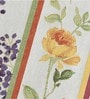 Avira Home Floral Lines Multicolour Cotton And Polyester Table Mat - Set Of 4