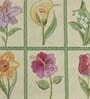 Avira Home Floral Window Multicolour Cotton & Polyester Placemats - Set of 6