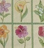 Avira Home Floral Window Multicolour Cotton And Polyester Table Mat - Set Of 2