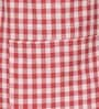 Avira Home Red Cotton Aprons - Set of 2