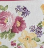 Avira Home Rose Garden Pink & Yellow Cotton And Polyester Table Mat - Set Of 2