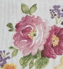 Avira Home Rose Garden Pink & Yellow Cotton And Polyester Table Runner
