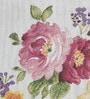 Avira Home Rose Garden Multicolour Cotton And Polyester Table Runner