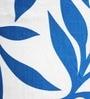 Azaani 84 x 48 Inch Blue Polyester Door Curtain - Set of 2