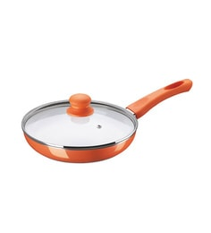 Bajaj Frying Pan Ceramic 240 Mm With Lid