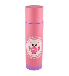 Bar World Pink Stainless Steel & Plastic 500 ML Vacuum Flask - 1601974