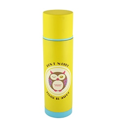 Bar World Yellow Stainless Steel & Plastic 500 ML Vacuum Flask