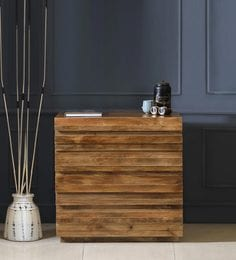Bari Small Chest Of Drawers In Natural Finish