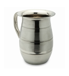 Bartan Shopee Stainless Steel Traditional Designer Water Jug Round 1200 ML - 1631161