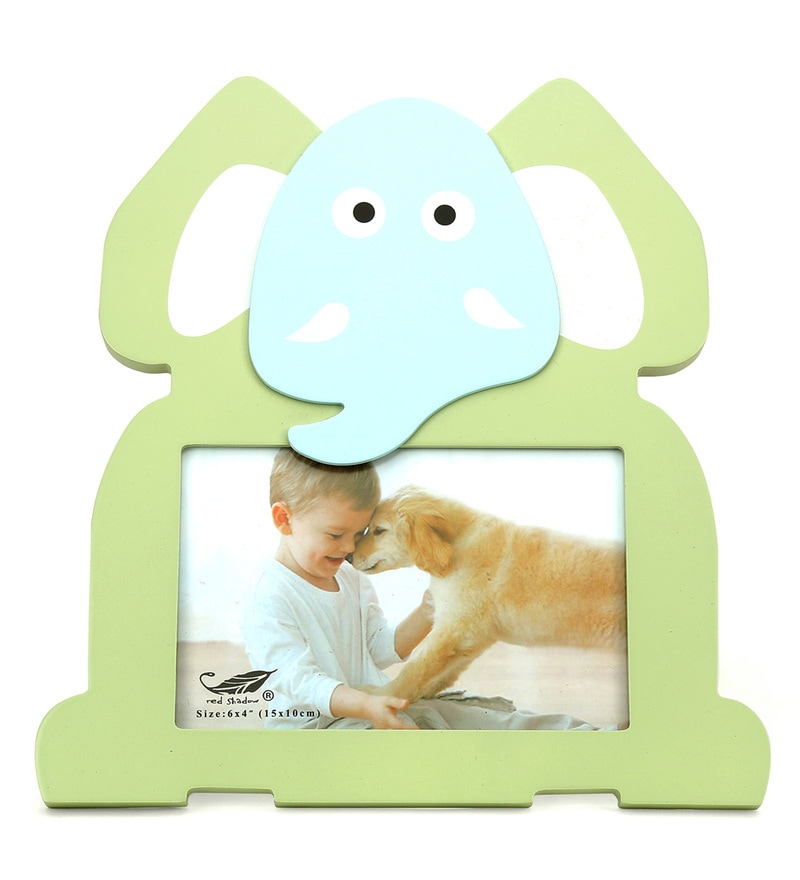 Baby Elephant Mdf Photo Frame By @Home