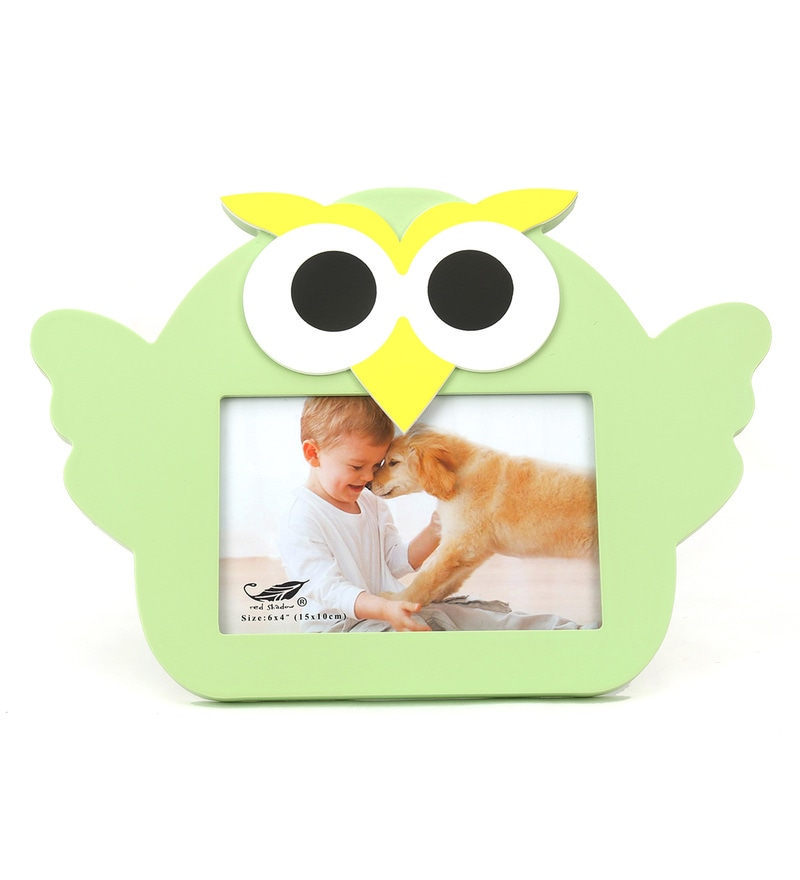 Baby Owl Mdf Photo Frame By @Home