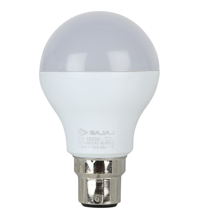 Bajaj White 9W LED Bulb