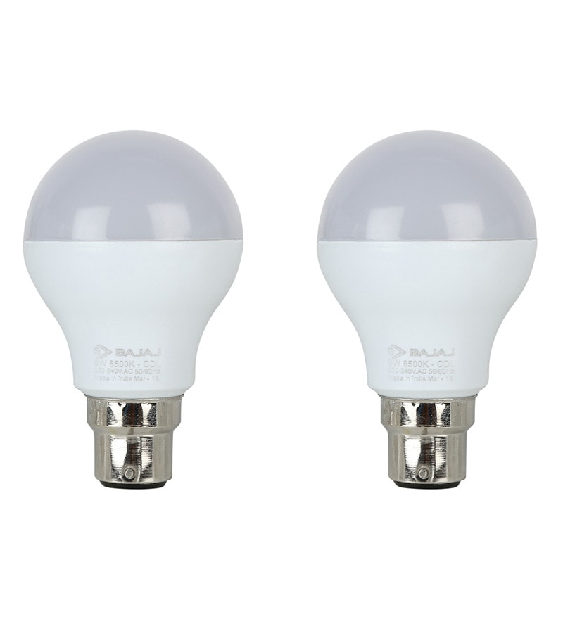Bajaj White 9W LED Bulb Set of 2