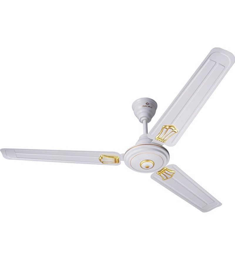 Bajaj Bahar Deco White Ceiling Fan - 47.24 in