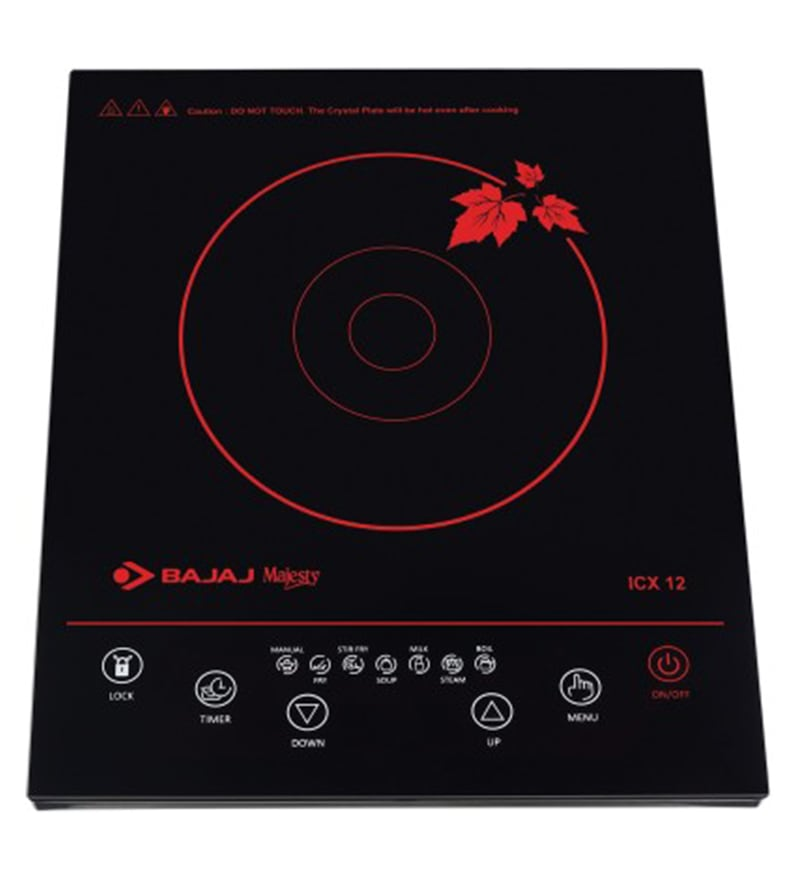 Bajaj Majesty Icx 12 Feather Touch 1800W Induction Cooktop