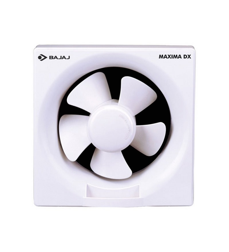 Bajaj DXI Maxima White Exhaust Fan - 11.81 in