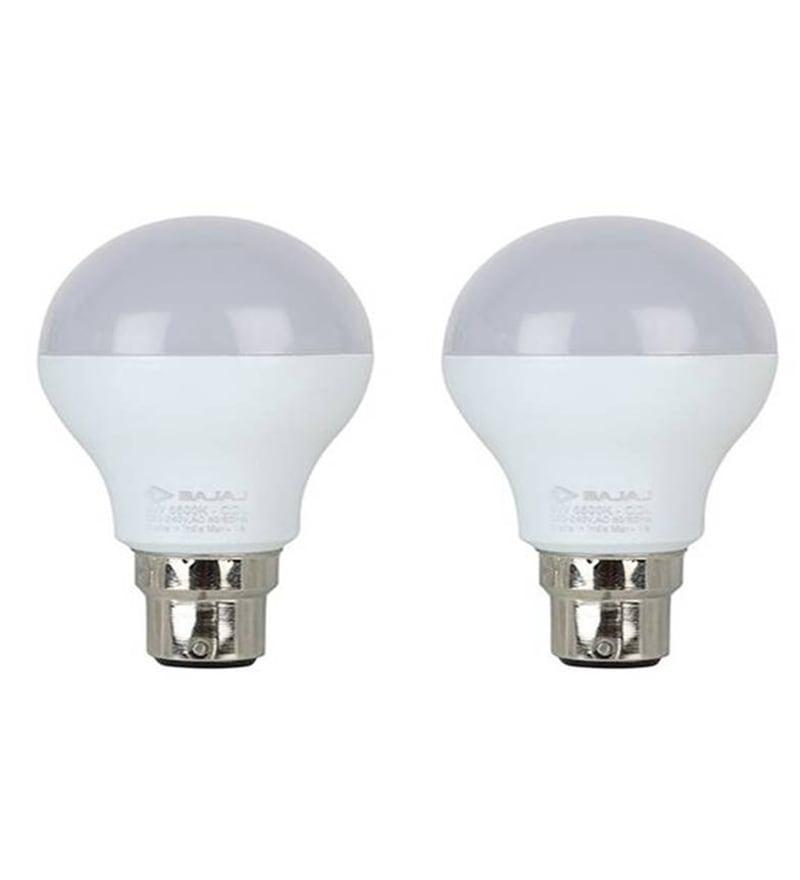 Bajaj White 12 W LED Bulb - Set of 2