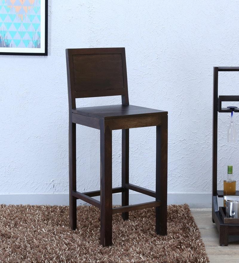 Acropolis Bar Chair in Warm Chestnut Finish by Woodsworth