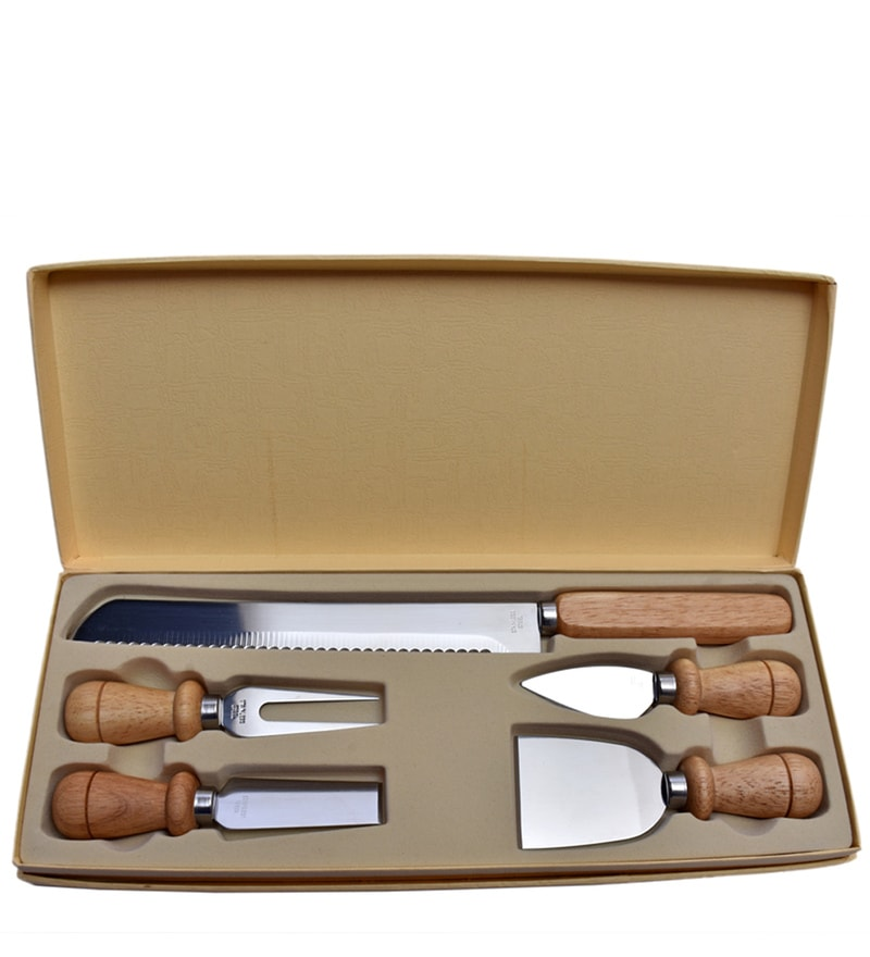 Barworld 5 pieces Cheese Knife Set