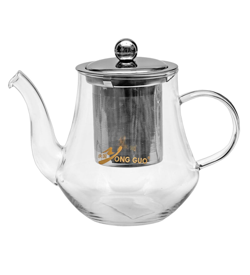 Barworld Borosilicate Glass 700 ML Kettle with Infuser