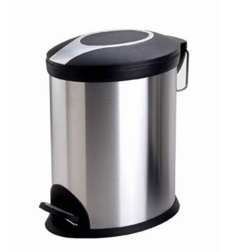 Black Kitchen Bin Sale: Buy Aristo Plastic 32 L Dustbin Online
