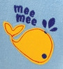 Mee Mee Baby Towel in Blue Colour