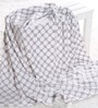Bacati Grey Dots Baby Throw