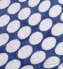 Bacati Navy Blue Dots Baby Throw