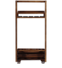 Acropolis Bar Trolley in Provincial Teak Finish by Woodsworth