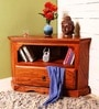 Donald Entertainment Unit in Warm Walnut Finish by Amberville