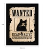 bCreative Paper & Fibre 13 x 1 x 17 Inch Schrodinger's Cat Officially Licensed Framed Poster