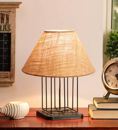 Beige Jute Table Lamp - 1705574